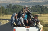 i can count 13 (Neal J.Wilson) Tags: ethiopia ethiopian africa africans centralafrica nikon d5600 people travel toyota crowded car transport roads