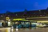 Almere 2017 (Jon Hoogendijk) Tags: almere connexxion nacht ns station oude bussen van hool newag300
