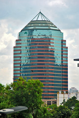 Menara Mulia (Everyone Sinks Starco (using album)) Tags: jakarta building gedung architecture arsitektur office kantor