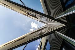 Auberge de jeunesse de Lille (lecointelaetitia) Tags: lille city ville architecture lignes geometry géométrie ciel europe france aubergedejeunesse