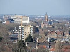 "Newham Town Hall tower viewed from the ""Beckton Alps"" (John Steedman) Tags: uk unitedkingdom england イングランド 英格兰 greatbritain grandebretagne grossbritannien 大不列顛島 グレートブリテン島 英國 イギリス ロンドン 伦敦 london newhamtownhall"