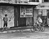 First Standard (Beegee49) Tags: man boy son teen two on bicycle bacolod city philippines father