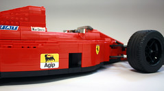 FerrariF189_08 (RoscoPC) Tags: ferrrari f1 lego f189 640 v12 nigel mansell papera gerhard berger john barnard shift paddle wheel engine steering suspension gearbox