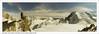 Mont Blanc desde la Aiguille du Midi. Chamonix. Francia  // Mont Blanc from the Aiguille du Midi. Chamonix. France (José María Gómez de Salazar) Tags: alpes chamonix francia paisaje panoramica nubes glaciar montaña aiguilledumidi france landscape panoramic snow clouds glacier mountain montblanc sky hillside rocks rocas montmaudit montblancdutacul