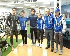 triatlón Indoor team clavería triatlón World 4