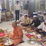 20171019-Chopda Poojan in Swaminarayan gurukul(NGP) (2)