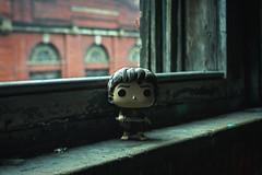 Frodo Window Sil (FlynnLovesPhotography) Tags: urbex funkopop funko toys toyphotography ohio ohioexplored frodo lordoftherings