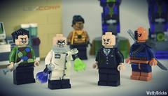 LexCorp R&D (Gotham Lab) (WattyBricks) Tags: lego dc comics superheroes crazy quilt professor hugo strange tarantula lex luthor deathstroke mech lexcorp gotham rogues gallery batman