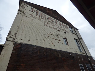 Church Street, Bilston - ghost sign - Heaths The Quality Fish, Fruit, Poultry Market