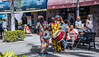 2017 - Regent Cruise - Basseterre St. Kitts - Steet Muscians (Ted's photos - For Me & You) Tags: 2017 cropped nikon nikond750 nikonfx regentcruise tedmcgrath tedsphotos vignetting streetscene people peopleandpaths musicians drum colorful colourful seating seated cane braids sunglasses drummers basseterre stkitts basseterrestkitts sign ballcap