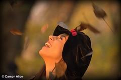 Happy autumn (pinkystar_84) Tags: ragazza girl donna woman autunno autumn allegria sorriso smile profilo canon eos700d people happy