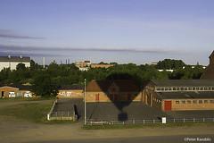 Balloonstart in Rendsburg, Germany (peterkaroblis) Tags: ballonfahrt balloonride intheair luftaufnahme vonoben