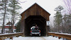 12.2017 - new years in vt frozen 2017 (wuvy) Tags: vt vermont bridge bridges coveredbridge fj fjcruiser toyota