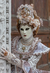 Costumes at San Zaccaria, 2018 Venice Carnevale (Alaskan Dude) Tags: travel europe italy venice venise venezia carnevale carnaval venicecarnevale 2018venicecarnevale people portrait portriats costume costumes mask masks