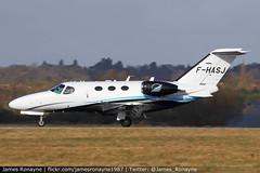 F-HASJ   Cessna 510 Citation Mustang   Astonjet (james.ronayne) Tags: fhasj cessna 510 citation mustang astonjet c510 aeroplane airplane plane aircraft jet luton ltn eggw canon 80d 100400mm raw