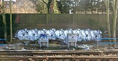 Trackside London (cocabeenslinky) Tags: trackside london streetart graffiti south city capital england united kingdom uk street art artist artiste graf graff urban photos photography canon powershot g15 power shot ©cocabeenslinky february 2018