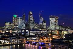 Like a Thousand Diamonds. (ecmlsteve2) Tags: city night modern tate london