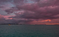 Good morning, Pacific (Olivera White) Tags: asia pacific palau oliverawhite ocean view purple sky