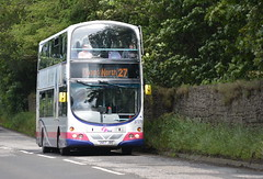 37270 (Callum's Buses and Stuff) Tags: bus volvo buses gemini first wright edinburgh edinburghbus firstinedinburgh 43 southqueensferry busesb9tl b9tl b9tlvolvo geminib9tl b9