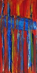 underworld (Peter Wachtmeister) Tags: artinformel art modernart artbrut minimalart acrylicpaint abstract abstrakt surrealismus surrealism hanspeterwachtmeister