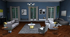 Style1698 (♥ Kayshla Aristocrat) Tags: homeanddecorations home daddesign furniture homedecor fancydecor uber livingroom slliving secondlife sl