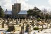 Ramsgate Cemetery - Twin Chapels & Tombs 3 (Le Monde1) Tags: ramsgate kent england ramsgatecemetery county graves tombs tombstones headstones lemonde1 nikon d800e dumptonpark snow georgegilbertscott nonconformist anglican twin chapels