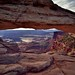 Another Direction and View Seen Through Mesa Arch (Canyonlands National Park)