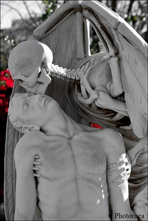 Kiss of the death.