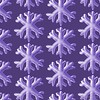 Ultra Violet Soft Snowflake Pattern (borianag) Tags: naturelover weather nature procreate art seasonal season ultraviolet violet redbubble patterndesign patterns pattern winter snow snowflakes snowflake