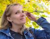 Autumn (Andrey (aka Ventrosus)) Tags: portrait woman maple tree autumn foliage sun daylight olympus sigma
