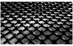 Iron gate (spencerrushton) Tags: spencerrushton spencer rushton canon5dmkiii 5dmk3 5dmkiii 24105mm canon24105mmlf4 canon canonlens canonl beautiful blackandwhite black bw white london londonuk ironwork abstract pattern monochrome macro raw lightroom lightanddark