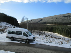 Berrybush (cessna152towser) Tags: fordtransit scotland