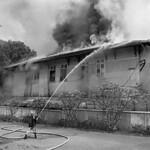 Saigon Tet Offensive 1968 - Lính cứu hỏa chữa cháy tại Đài phát thanh Saigon hôm 3-2-1968 thumbnail
