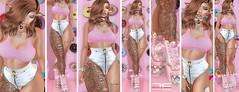 Detached - Peach (Ai Venus Kouyama) Tags: secondlife sl fashion style blog blogging blogger avatar elf ginger tumblr blogspot donuts collabor88 limitededition epic yumz anybody hourglass 3d mesh omega pink