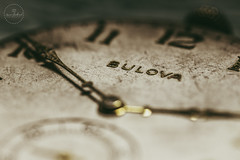 IMG_4814logo (Annie Chartrand) Tags: watch pocketwatch time clock macro movement numbers dial face hands stilllife antique old classic jewelry bulova gold shiny patina
