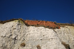 Chalk/Brick/Sky (geedub611) Tags: white blue ramsgate cliff flint chalk