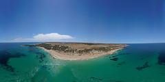 360 butlers beach (leemerchant) Tags: equirectangular butlers beach hillocks drive camping fishing swimming dji mavic