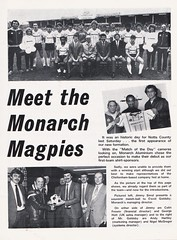 Notts County vs Middlesbrough - 1984 - Page 19 (The Sky Strikers) Tags: notts county middlesbrough fa cup road to wembley magpie official matchday magazine 40p meadow lane