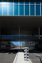 Gateway for merchant of Toyosu Market (豊洲新市場) (christinayan01 (busy)) Tags: tokyo japan market architecture building perspective toyosu