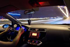 Una vuelta por Mérida (eit1mx) Tags: merida yucatan mexico color luces noche conducir conduciendo night drive driving largaexposición longexposure
