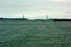 Walk on by (Axle Zhang) Tags: quiettime alonetime walk life leica port bridge newyork nyc