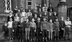 Time Travel (theirhistory) Tags: children kids boys school class form trousers shirt jumper wellies
