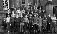 Class Photo (theirhistory) Tags: children kids boys school class form trousers shirt jumper wellies