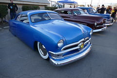 saturday drive in 255 (bballchico) Tags: 1950 ford custom chopped grandnationalroadstershow carshow saturdaydrivein