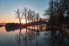 Peace Like a River (Free.heel) Tags: riverthames oxford medleybridge binsey nikond810 sunrise
