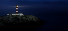 Eilean Glas Lighthouse - Scalpay - Scotland (Frédéric Lefebvre - Landscape photography) Tags: seascape sea horizon water coastline bay island headland ocean seashore shore scotland harris scalpay eilean lighthouse blue hebrides uk heure bleue sky beautiful light nightscape night atlantic lewis rock great landscape eileanglas isleoflewis bluesky