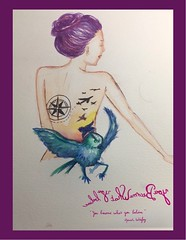 « You become what you believe  » Oprah Winfrey (Calligraphy typography écriture speculaire) Tags: handwriting quotation quotations watercolortattoo paintings watercolour watercolor aquarelle drawing artwork tattooidea proverb citation proverbe quotes quote painting writing typographie typography calligraphie calligraphy art dessin illustration oiseau
