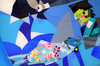 2014_slika_plexi_Dotik_49x75cm_Peter_Ciuha (peter.ciuha) Tags: paintings acrylic glass plexi canvas peter ciuha hanji paper kozo tak illuminated