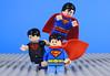 Symbols of Hope (-Metarix-) Tags: lego super hero minifig superman superboy kon el jon kal clark kent symbol of hope house dc comics comic rebirth universe
