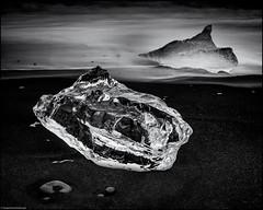 Stranding - Jökulsárlón (niggyl (catching up)) Tags: vatnajökull ringroad þjóðvegur1 hringvegur suðurlandsvegur höfn iceland ísland suðurland inspiredbyiceland icelandiclandscape fujifilm fujinon breathtakinglandscapes luminar2018 landscape kirkjubæjarklaustur fujifilmxt2 fujixt2 xt2 fujinonxf2314r fujixf2314r xf2314 jökulsárlón jökulsárlónglacierlagoon iceberg fog rain mist longexposure ndfilter nisi10stopndfilter nisifilters coppertoner silverefexpro cloudsstormssunsetssunrises monochrome mono blackandwhite bw lowkeyblackandwhite